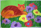"""Chat dans le jardin - Cat in the Garden"""