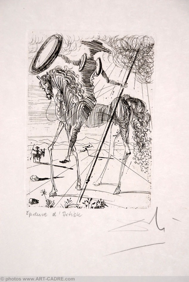 Don Quichotte - Don Quixote (suite Cinq Portraits espagnols - Five Spanish Immortals) Click to ZOOM